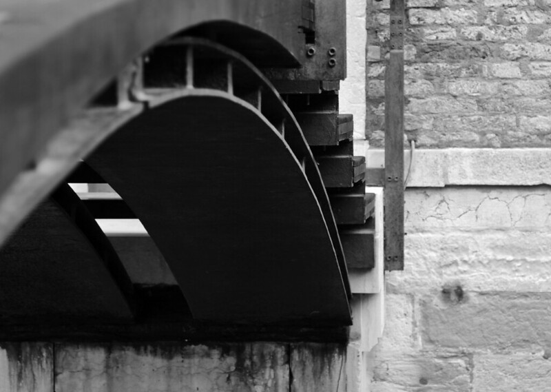 carlo scarpa, architect: fondazione querini stampalia, venice 1961-1963. entrance bridge.