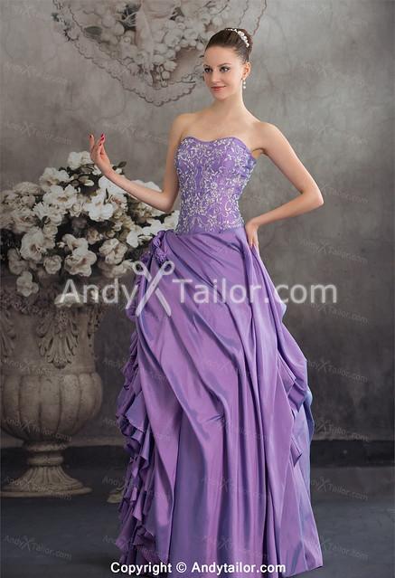 Elegant-Purple-Sheath-Floor-Length-Ruched-Special-Dress-For-Sale_0