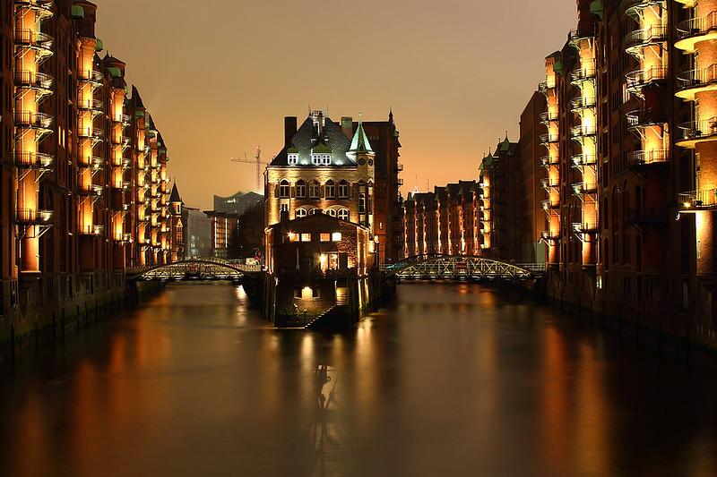 Wasserschloss in der Speicherstadt