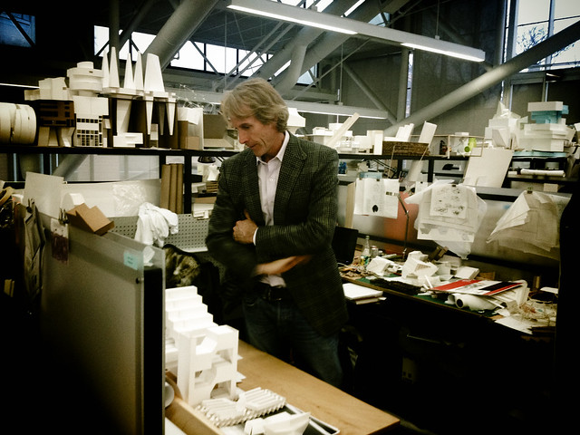 Michael Bay at Harvard Graduate School Of Design
