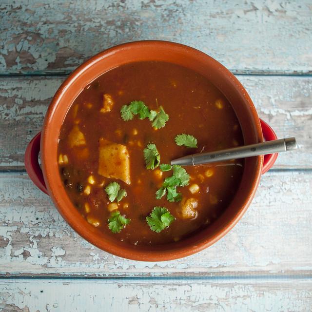 Easy Tamale Taco Soup