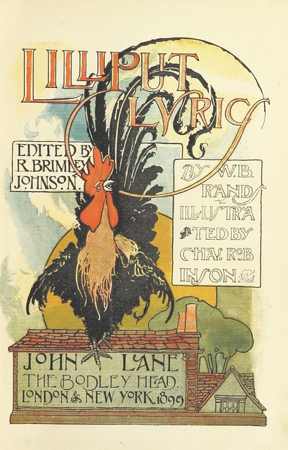 Image taken from page 7 of 'Lilliput Lyrics ... Edited by R. Brimley Johnson. Illustrated by Chas. Robinson'