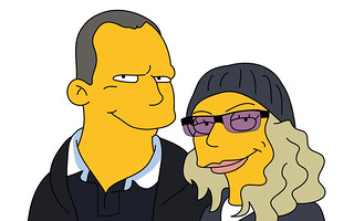 Us as Simpsons