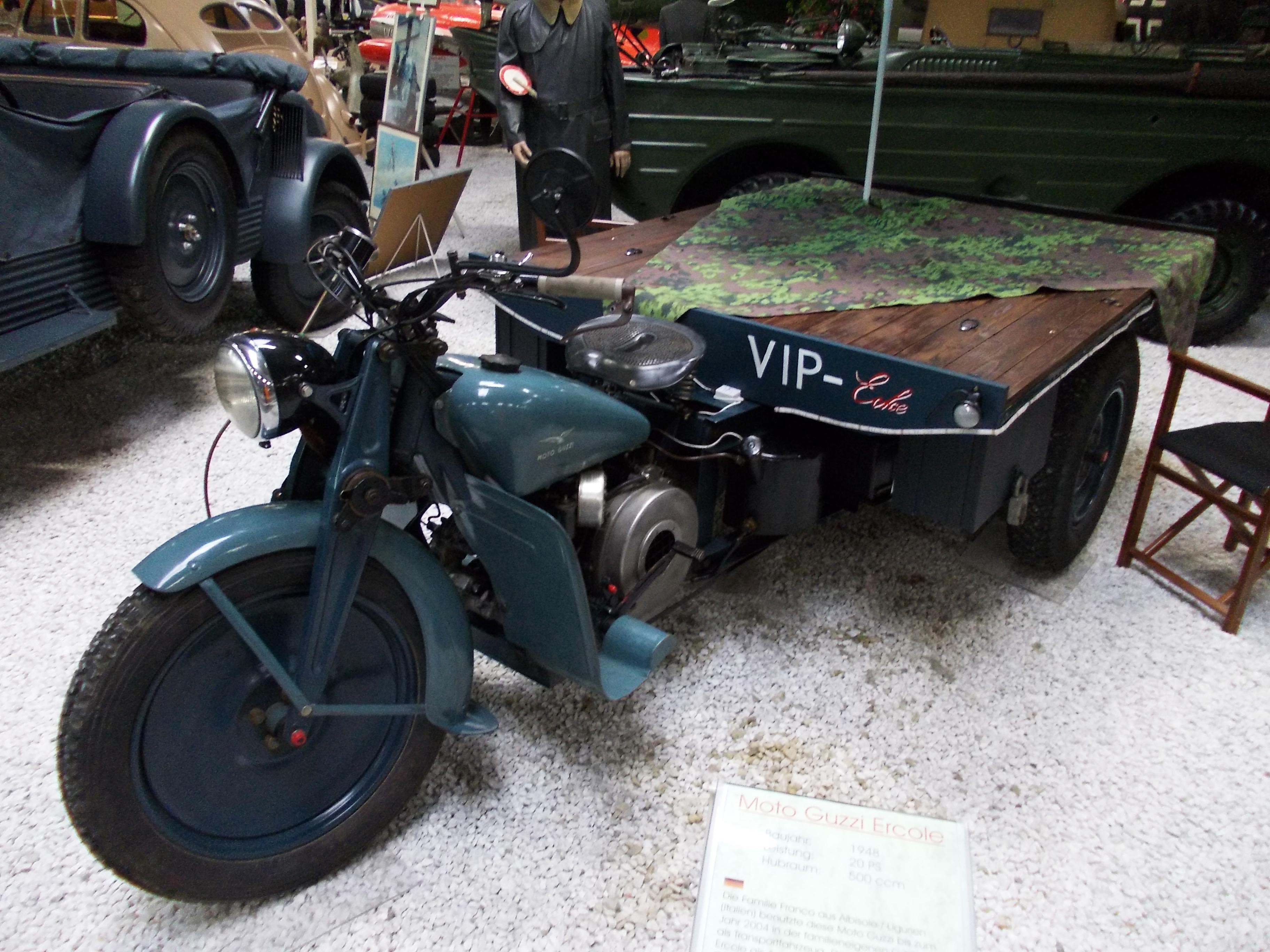 Moto Guzzi Ercole 1948