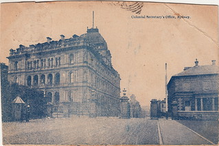 Colonial Secretary's Office, Sydney (c.1907)