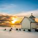 Winter at Varhaug old church [Explore #2] by Richard Larssen