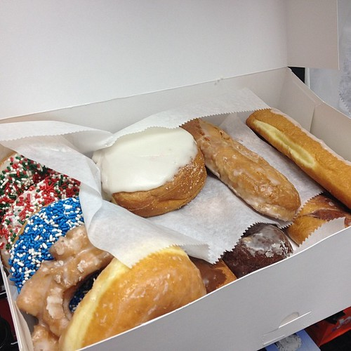The 12th day also brings us donuts!
