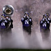 Northwestern Marching Band-NU v. OSU Homecoming 2013 by BryanHuebner