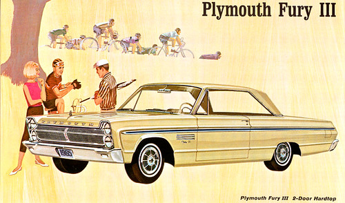 1965 Plymouth  Fury III by Rickster G