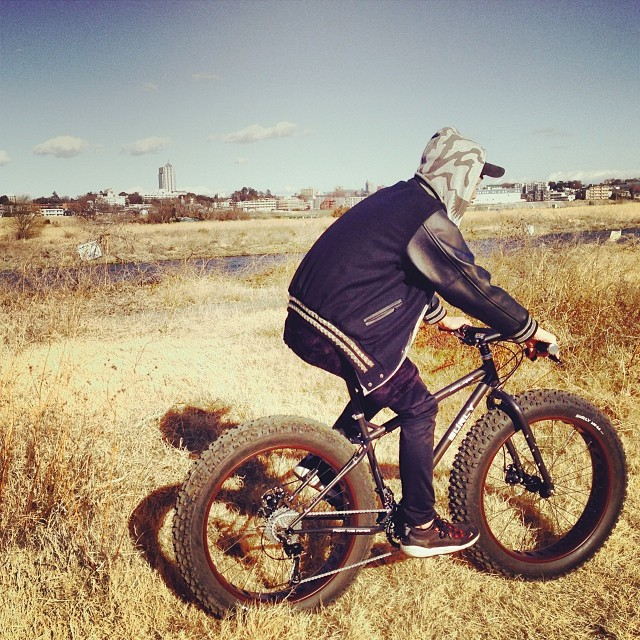 #MOONLANDER #納車ライド#surly #swampthings #abovebikestore