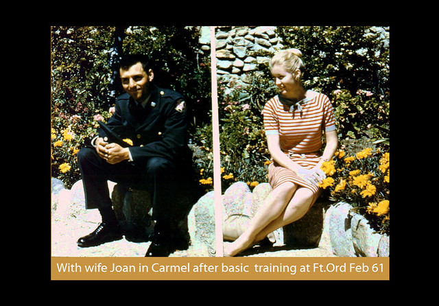 Jack van Ommen with wife Joan, 1961