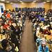 Educators Pack School Board Meeting by Light Brigading