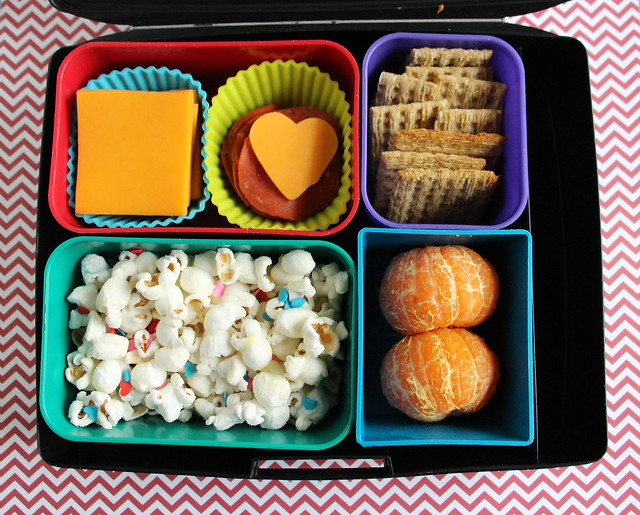Slightly Valentine-y Big Kid Bento #863