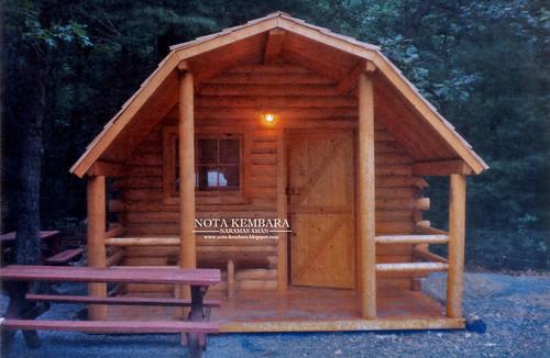 Menyapa bayu laut new england amerika syarikat for Stili di log cabin