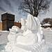 Snow sculpture II by Bergersoft