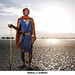 Portrait of Maasai-Warrior by Markus Schwarze
