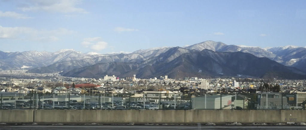 Mountains around Nagano