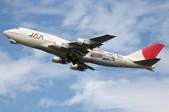Japan Asia Airways Boeing 747-346 (JA8185)