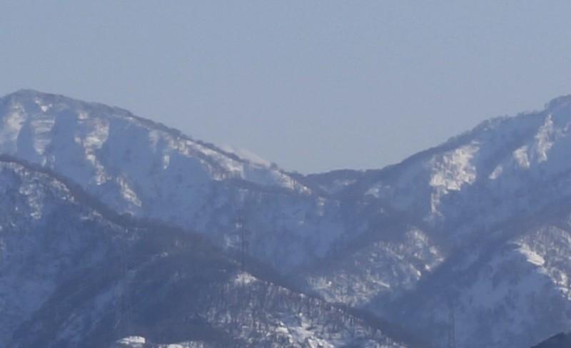 Hakusan Mt, from Tawara