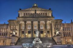 Berlin - Gendarmenmarkt (Konzerthaus)