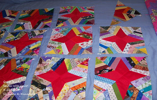 100_9096 - Quilt Blocks For Spider Web Quilt - 3-22-2014