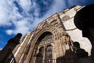 Iglesia de Santa María, una de los dos sedes de Las Edades del Hombre. Foto: Miguel Ángel Muñoz.