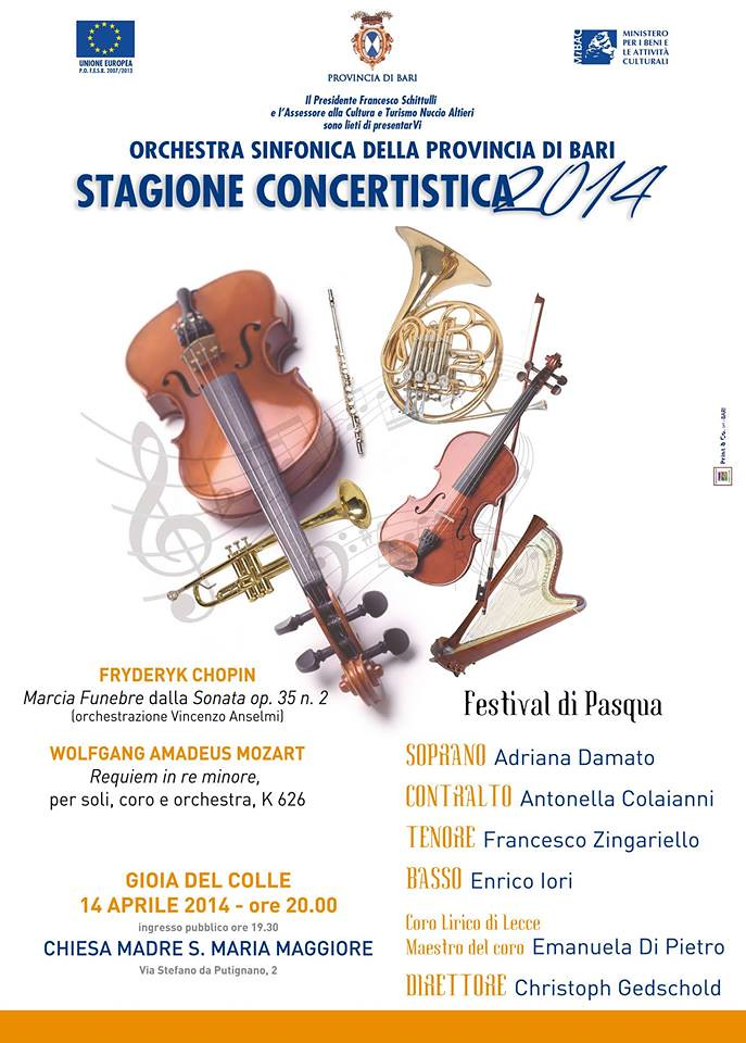 festival pasqua orchestra sinfonica bari