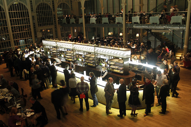 The Paul Hamlyn Hall Champagne Bar © ROH Restaurants 2014