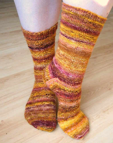 Handspun Rye Socks