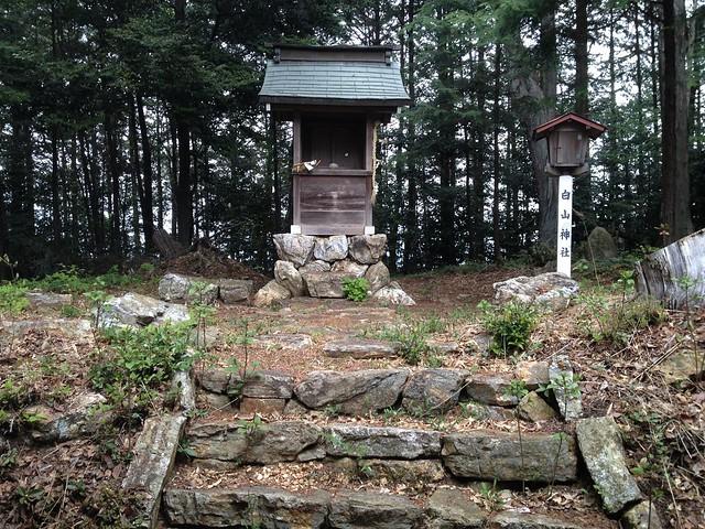各務原アルプス 白山神社