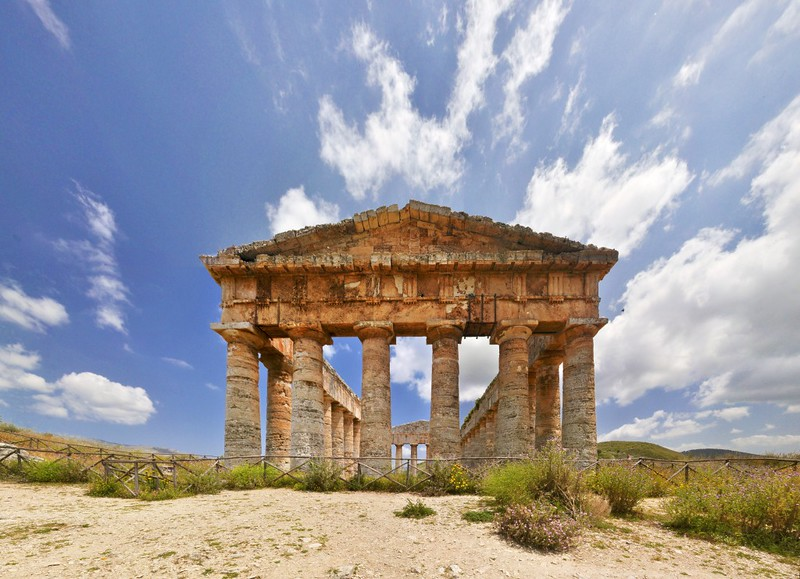 The Elymian temple at Segesta
