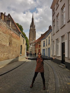 Beautiful Bruges Alley