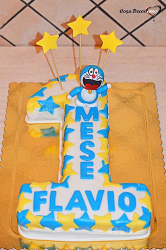 Torte - 105 - Torta numero Doraemon