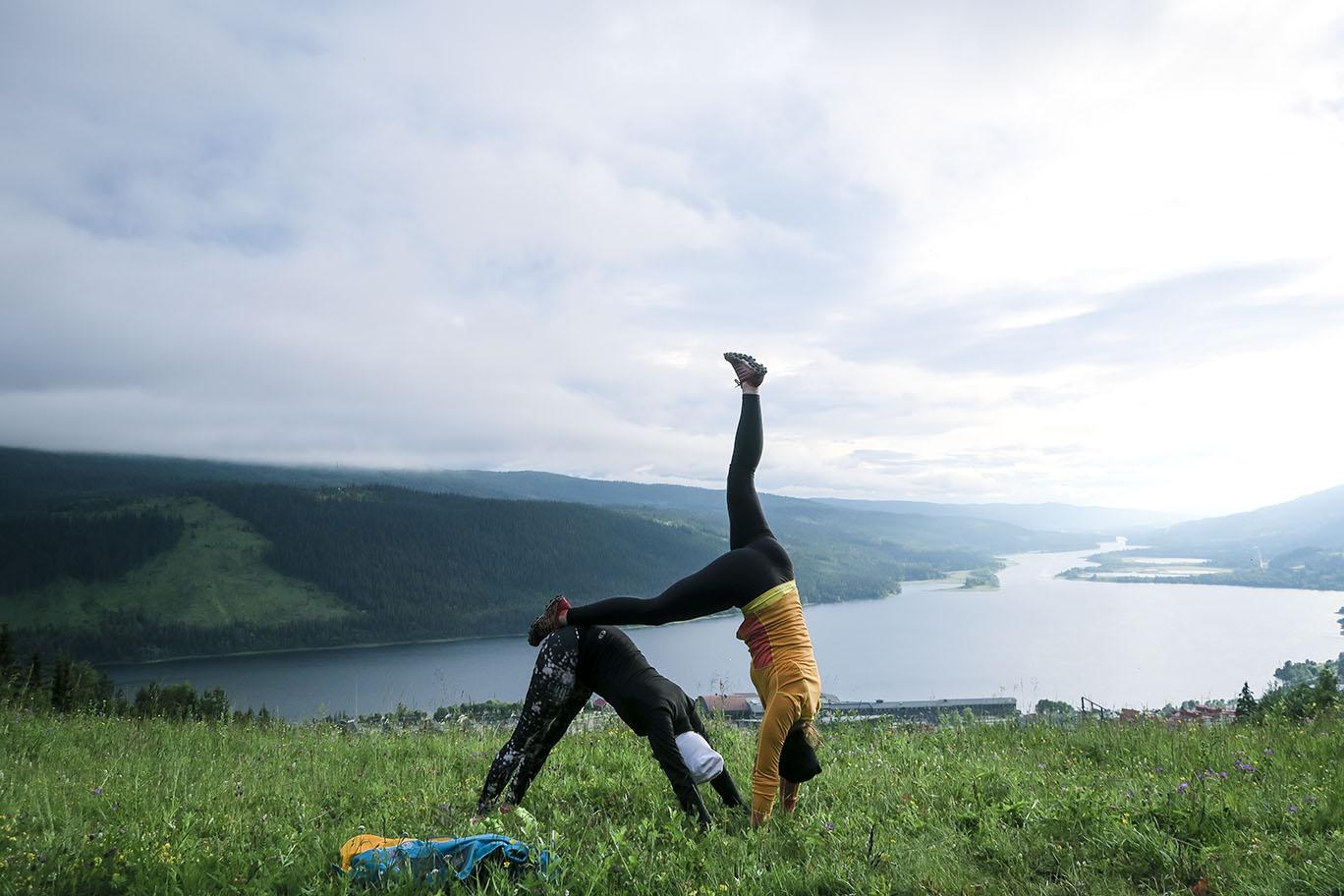 Yoga Åre www.traningsgladje.se