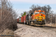 BNSF 4872 | GE C44-9W | BNSF Thayer South Subdivision