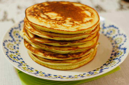 Perfect stack of pancakes