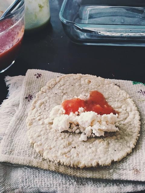 Sábado 4 desayunando