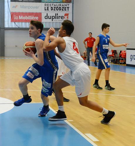 Grande Finale Fribourg Académie U16m -  Swiss Central Basket 14