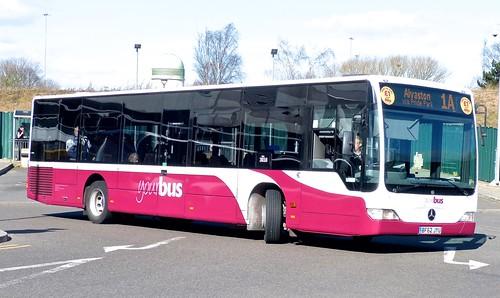 BF62 JYU 'yourbus' No. 3018 Mercedes-Benz Citaro /2 on Dennis Basford's railsroadsrunways.blogspot.co.uk'