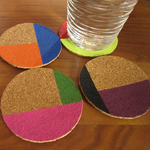 Iron Craft '13 #10 - Color Blocked Coasters
