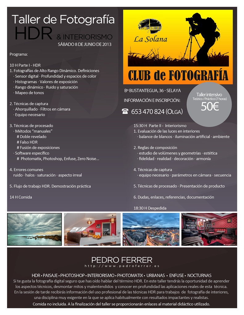 Taller HDR & Interiorismo. Club La Solana