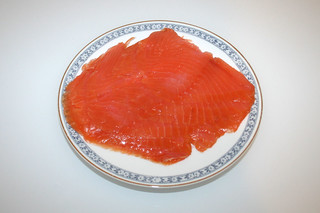 03 - Zutat Räucherlachs / Ingredient smoked salmon