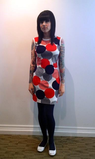 Melisser / vintage dress - edited