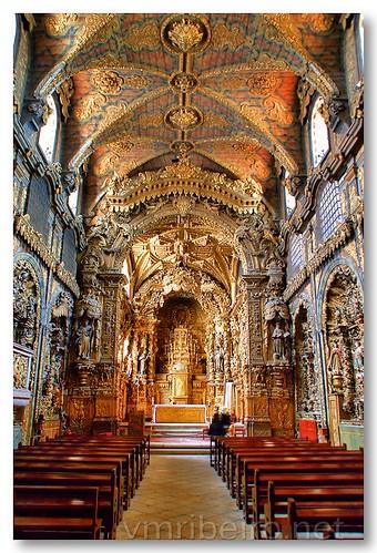 Interior da Igreja de Santa Clara (Porto) by VRfoto