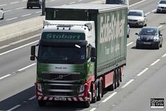 Volvo FH 6x2 Tractor - PX10 DLD - Pamela Ann - Eddie Stobart - M1 J10 Luton - Steven Gray - IMG_8536