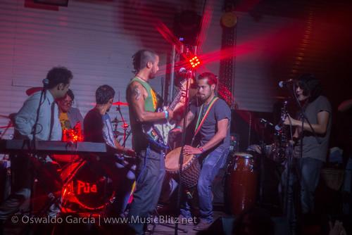 Pachedub Collective @ Púa [Fiesta de Apertura Ciudad Mural], Qro!