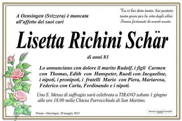 lisetta richini schar