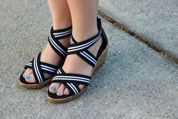Cheap Black Wedges Shoes