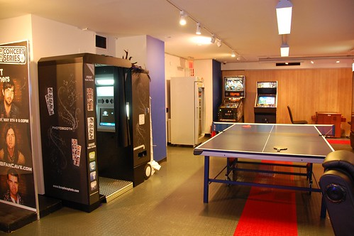 Ping pong, photo booth