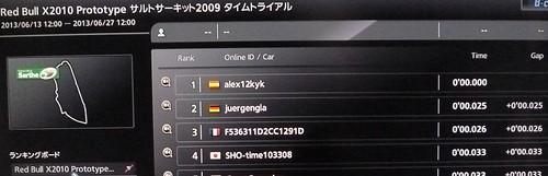 0秒でゴールって一体、、(^-^; Red Bull X2010 Prototype